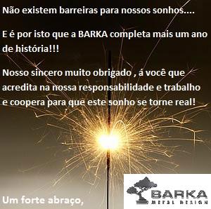 aniversário BARKA